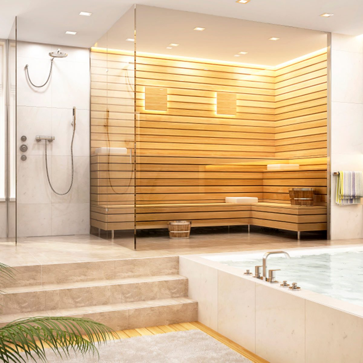 15 Incredible Steam Shower Ideas | Family Handyman