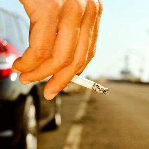 How to Fix Cigarette Burns in Car