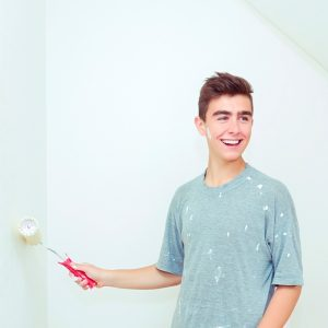 Teach Your Teenager How to Paint Their Room