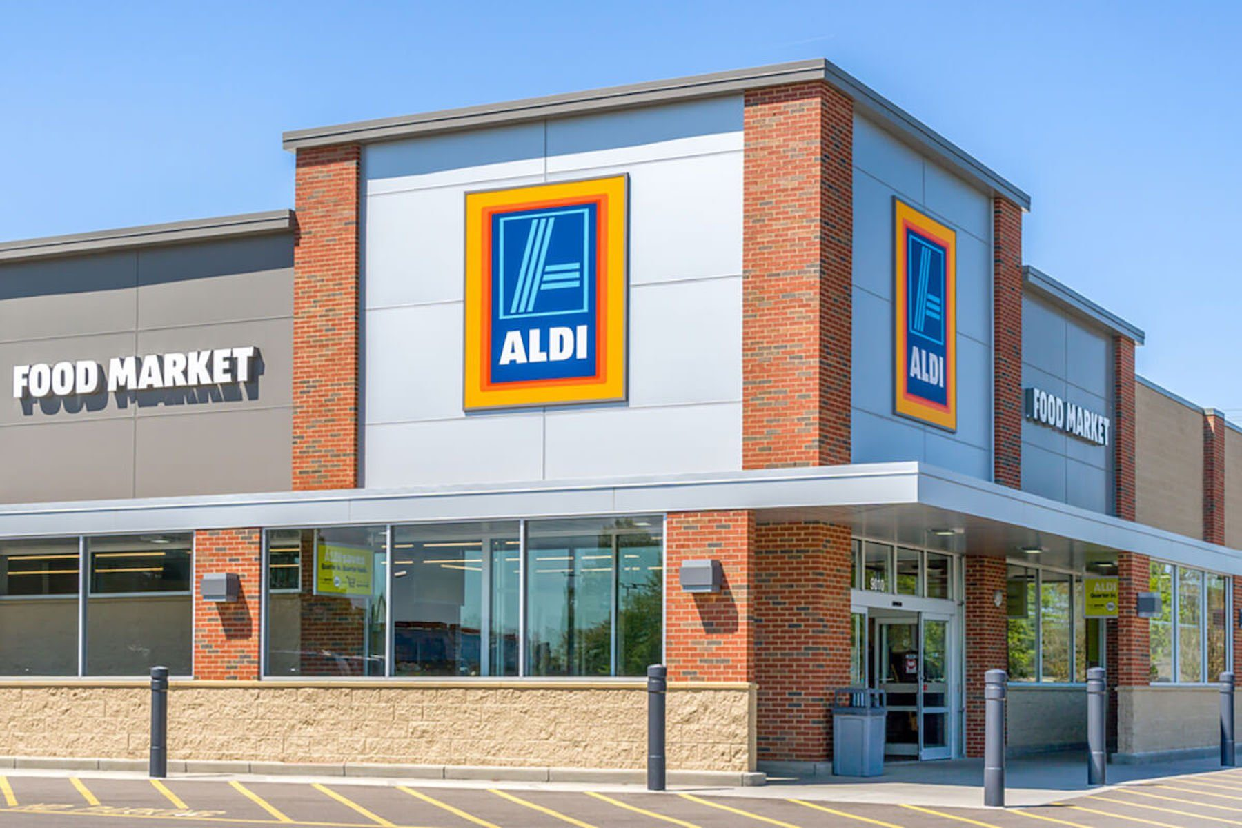 aldi grocery store external
