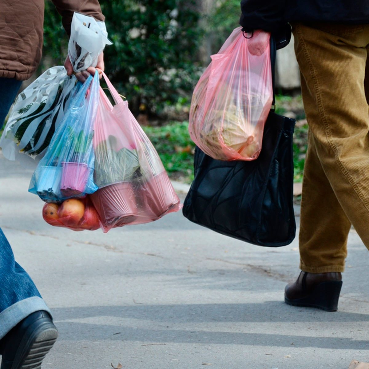 this is the easiest way to recycle plastic bags | family