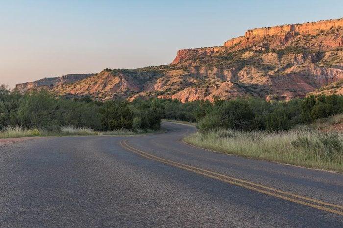Palo Duro Canyon Road