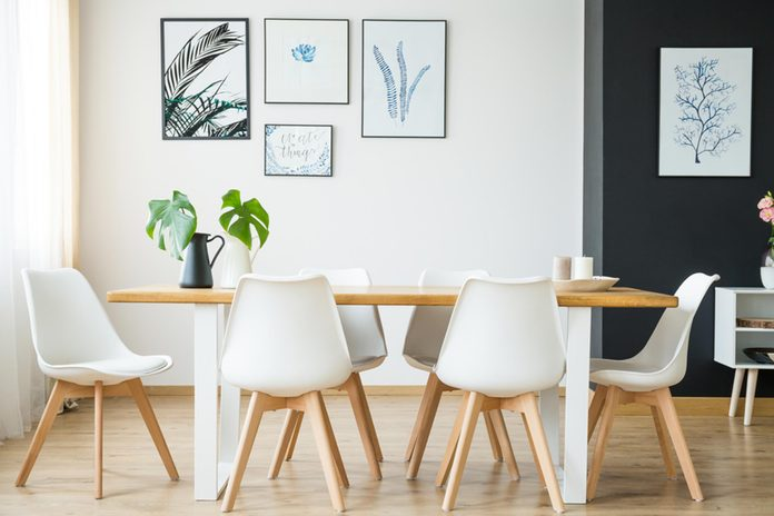 table chairs home house