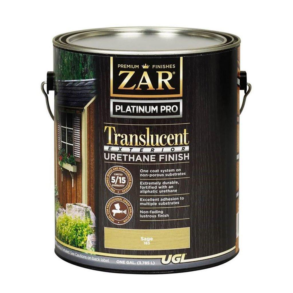 ZAR Translucent Exterior Urethane Finish | Construction Pro Tips