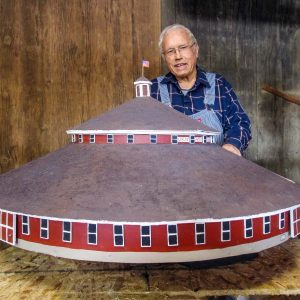 The World's Smallest Model of the World's Largest Round Barn