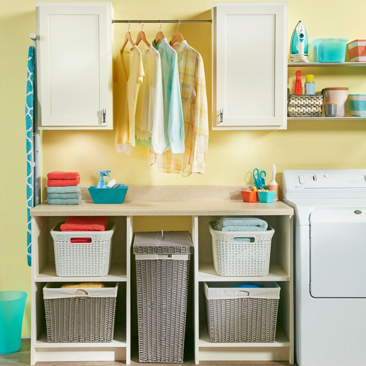 26 Cheap Laundry Room Ideas You Can DIY Today!  Family Handyman