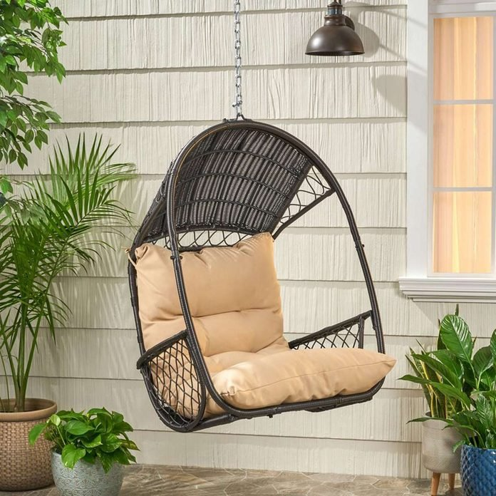 cozy porch swing chair