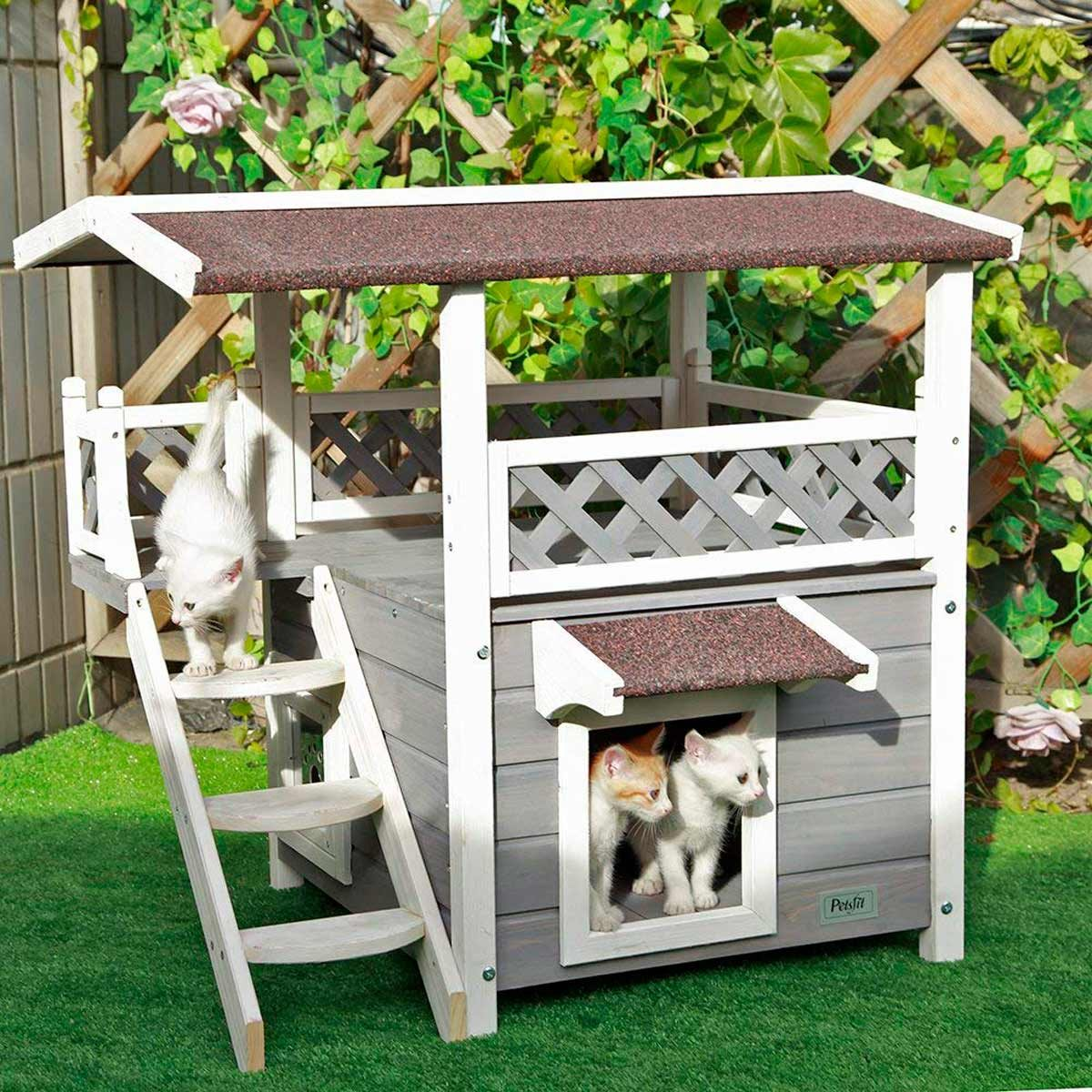 10 Cat Houses For Your Outdoor Cat Family Handyman