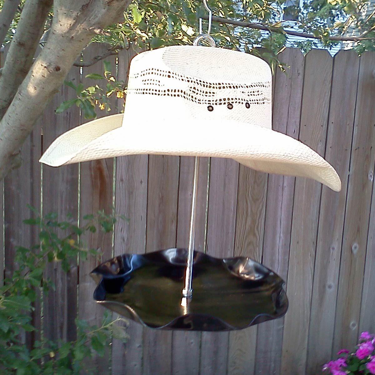 Cowboy-Hat-Bird-Feeder