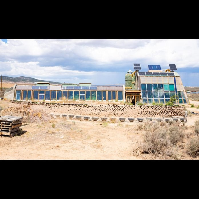 Earthship-New-Mexico