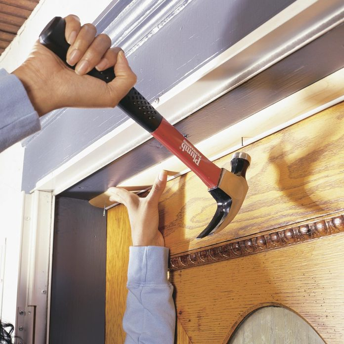 how to replace door weather stripping