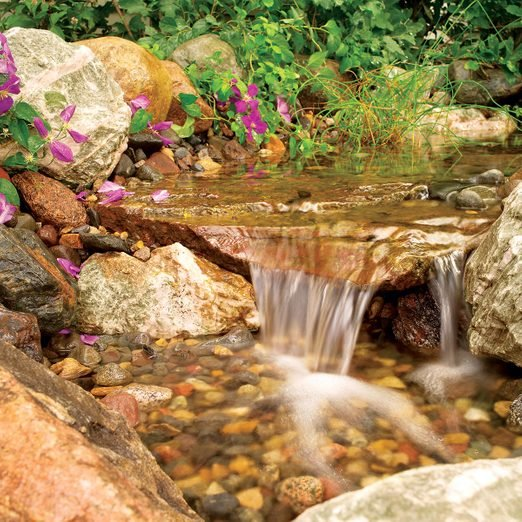 Build A Backyard Waterfall And Stream Diy