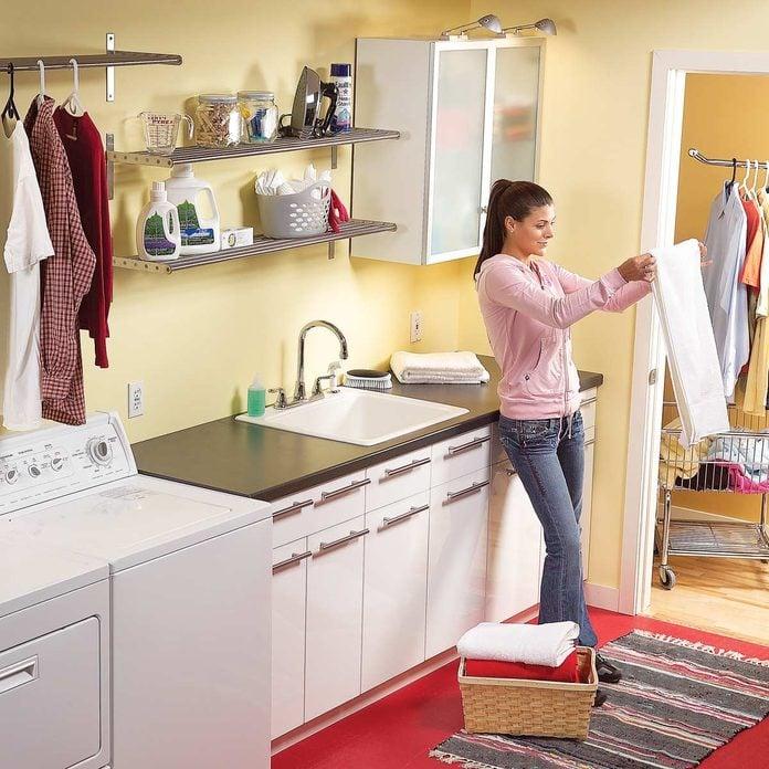laundry room organization ideas update