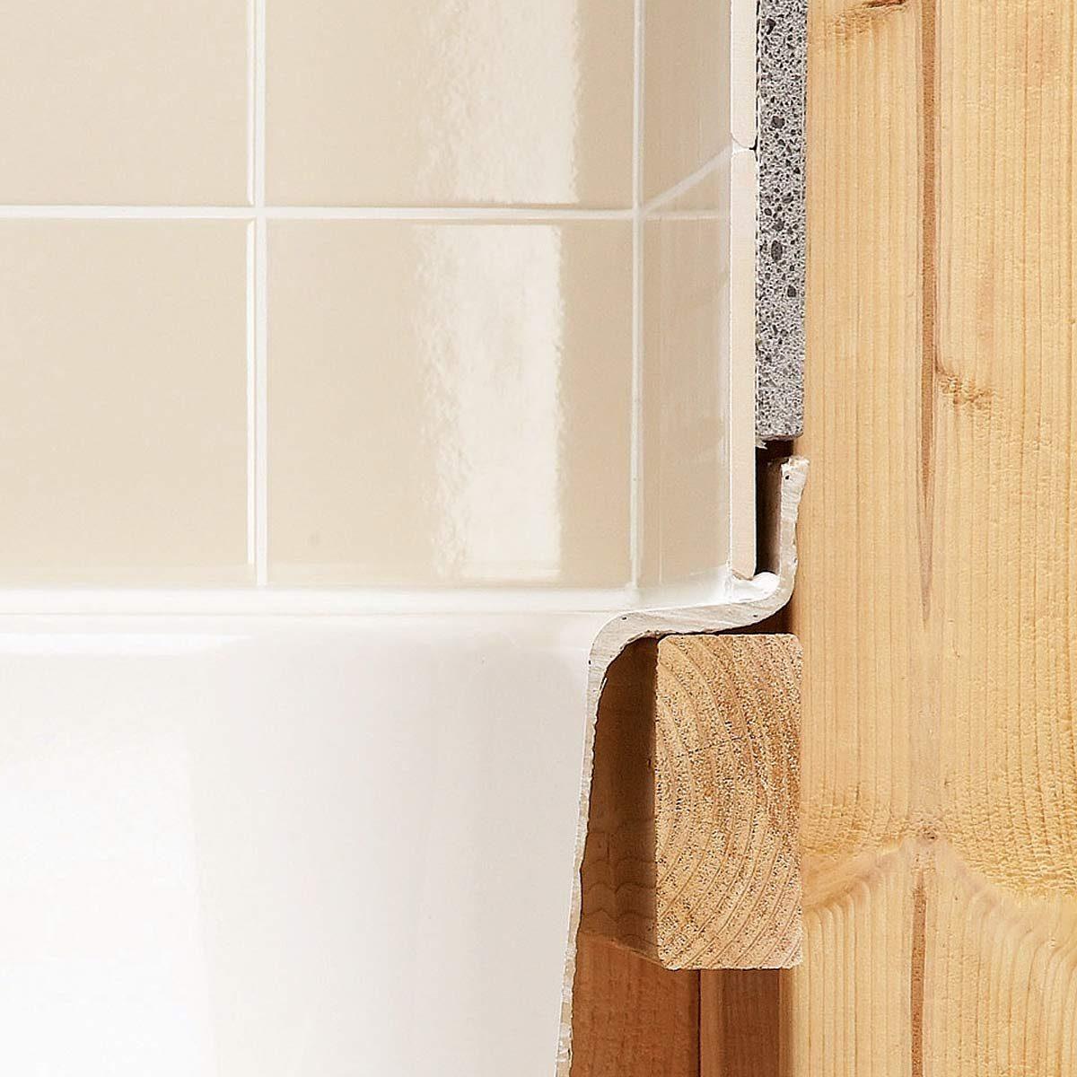 Tile Installation Backer Board Around A Bathtub The