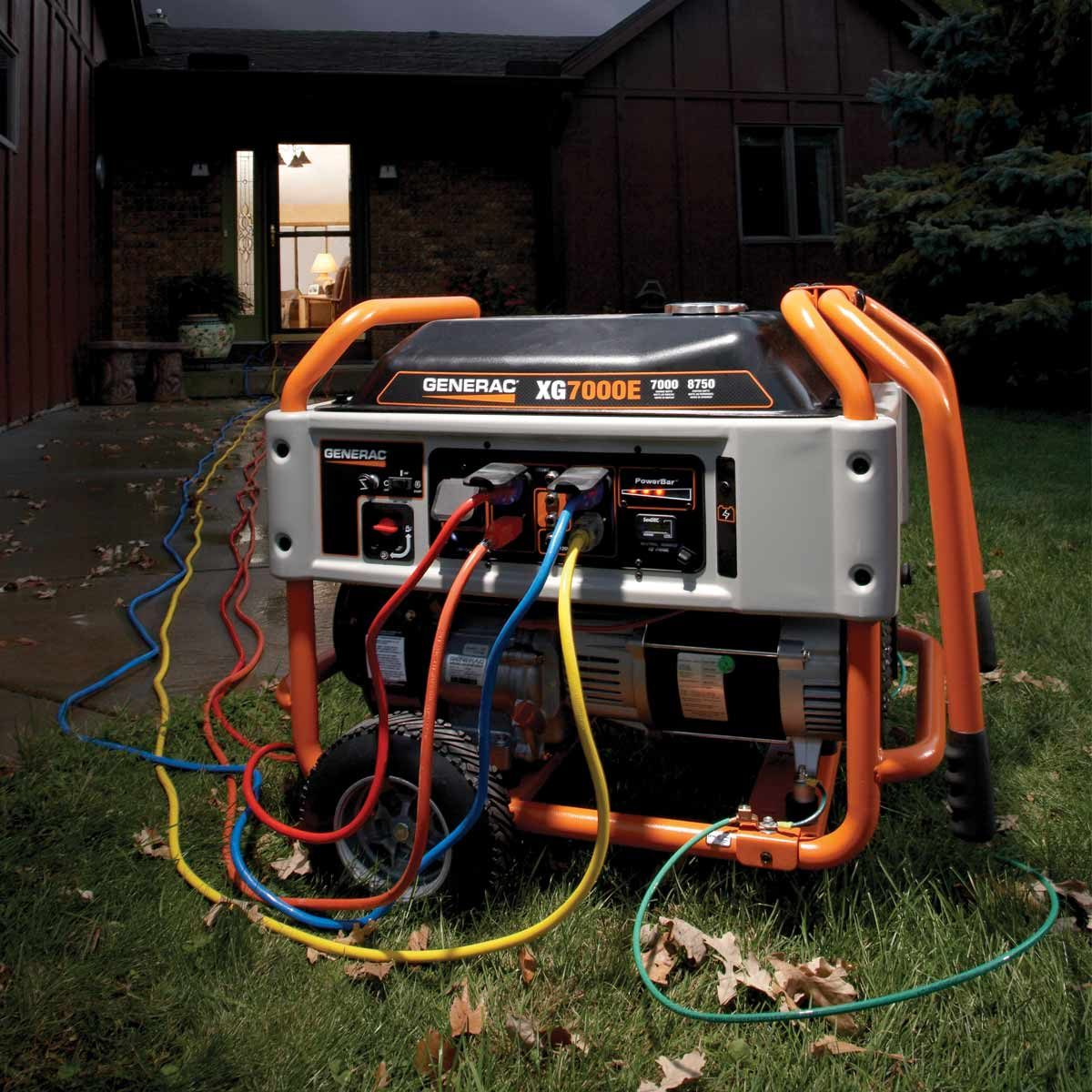 Wiring Diagram Unplug All Loads From The Generator Switch The Ac