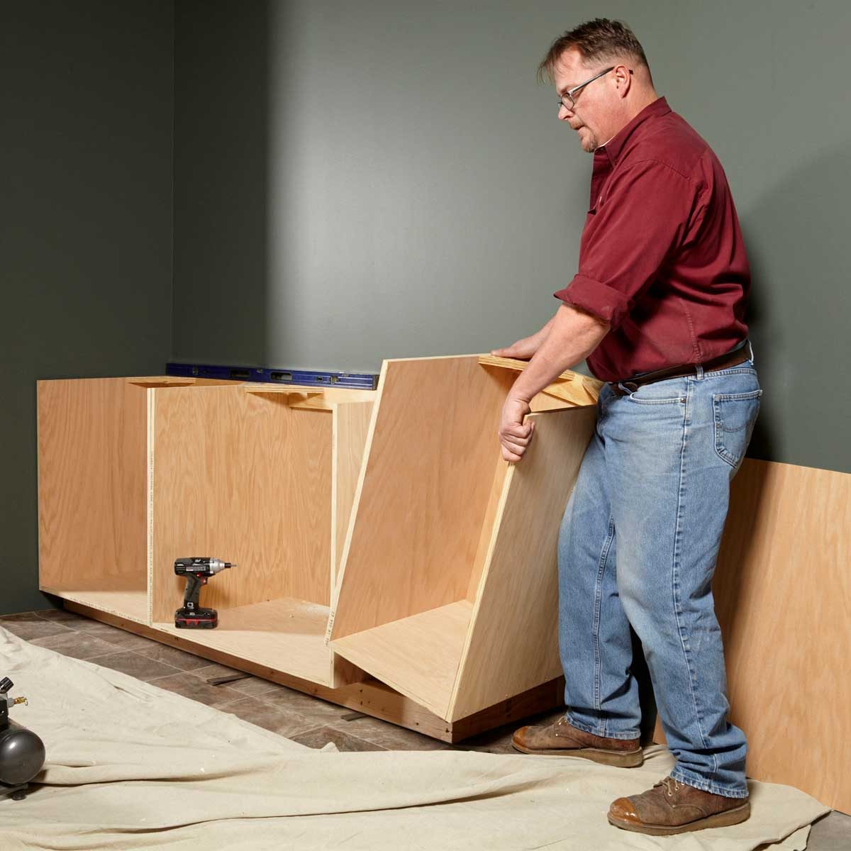 Face Frame Cabinet Plans and Building Tips | Family Handyman