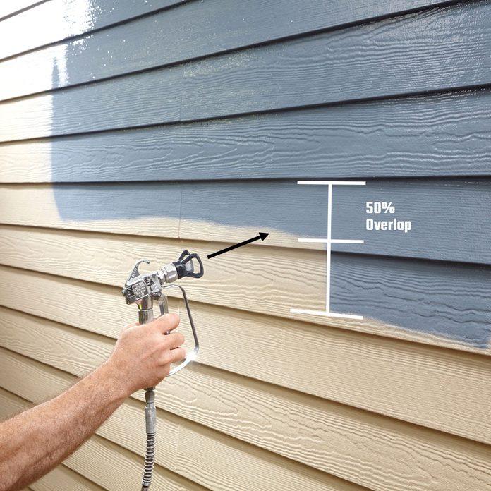 spray painting siding   Construction Pro Tips