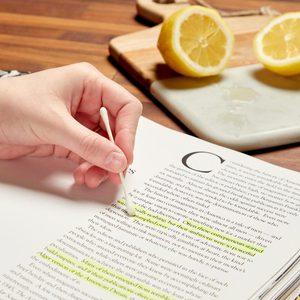 HH lemon juice remove highlighter