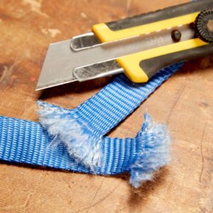 Easiest Way to Fix Frayed Straps