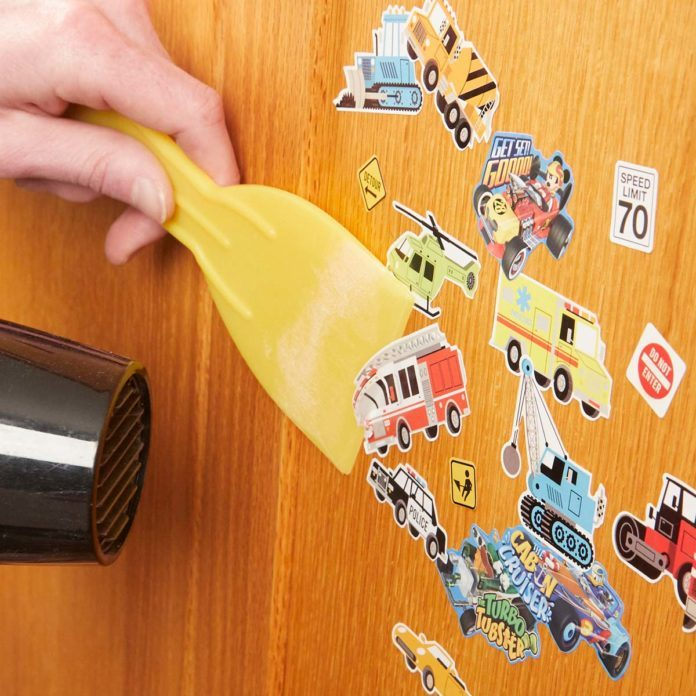 Easy Sticker Removal Trick You'll Wish You Knew Sooner