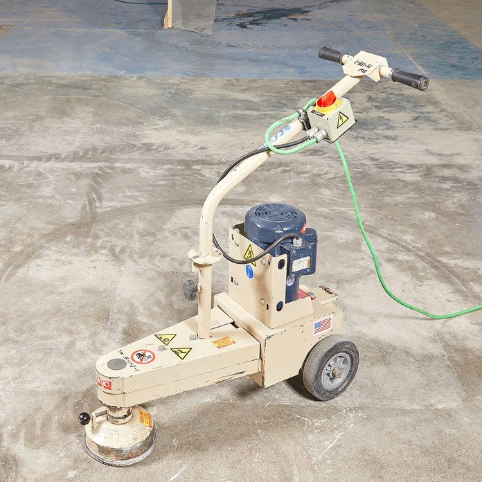 A grinder made for leveling concrete