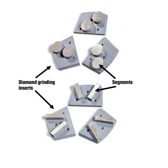 Diamond grinding inserts   Construction Pro Tips