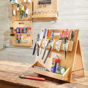 How to Build a Stand-Up Tool Caddy