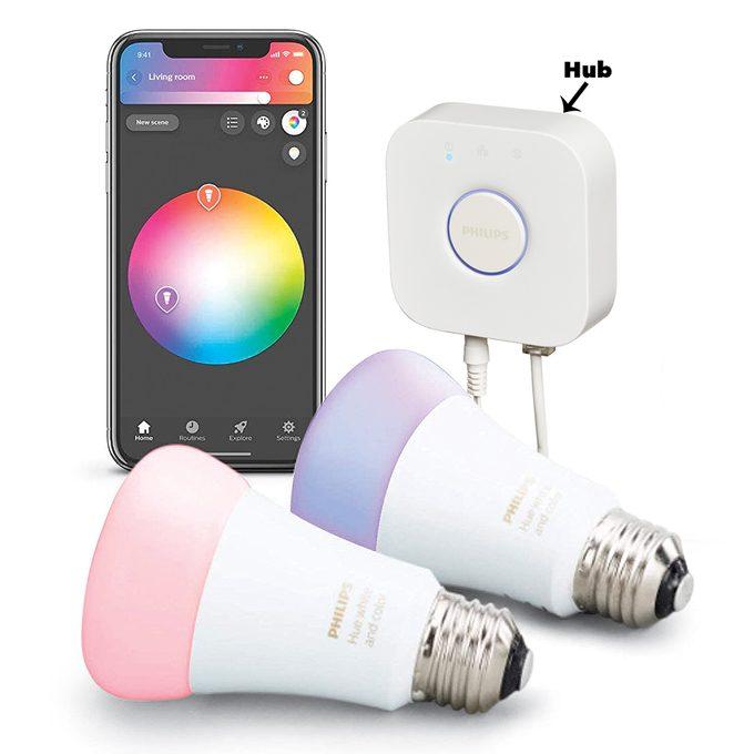 philips hue smart lightbulb starter kit