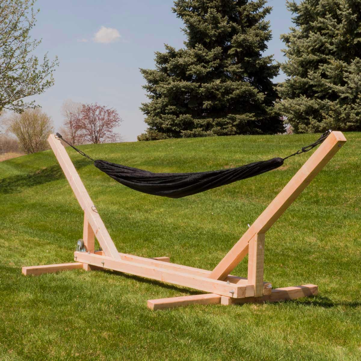 foldable hammock stand featured