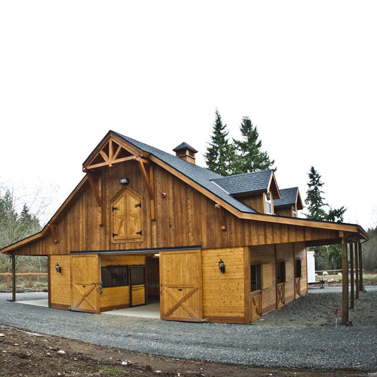 Snohomish-WA-Custom-Gable-Barn