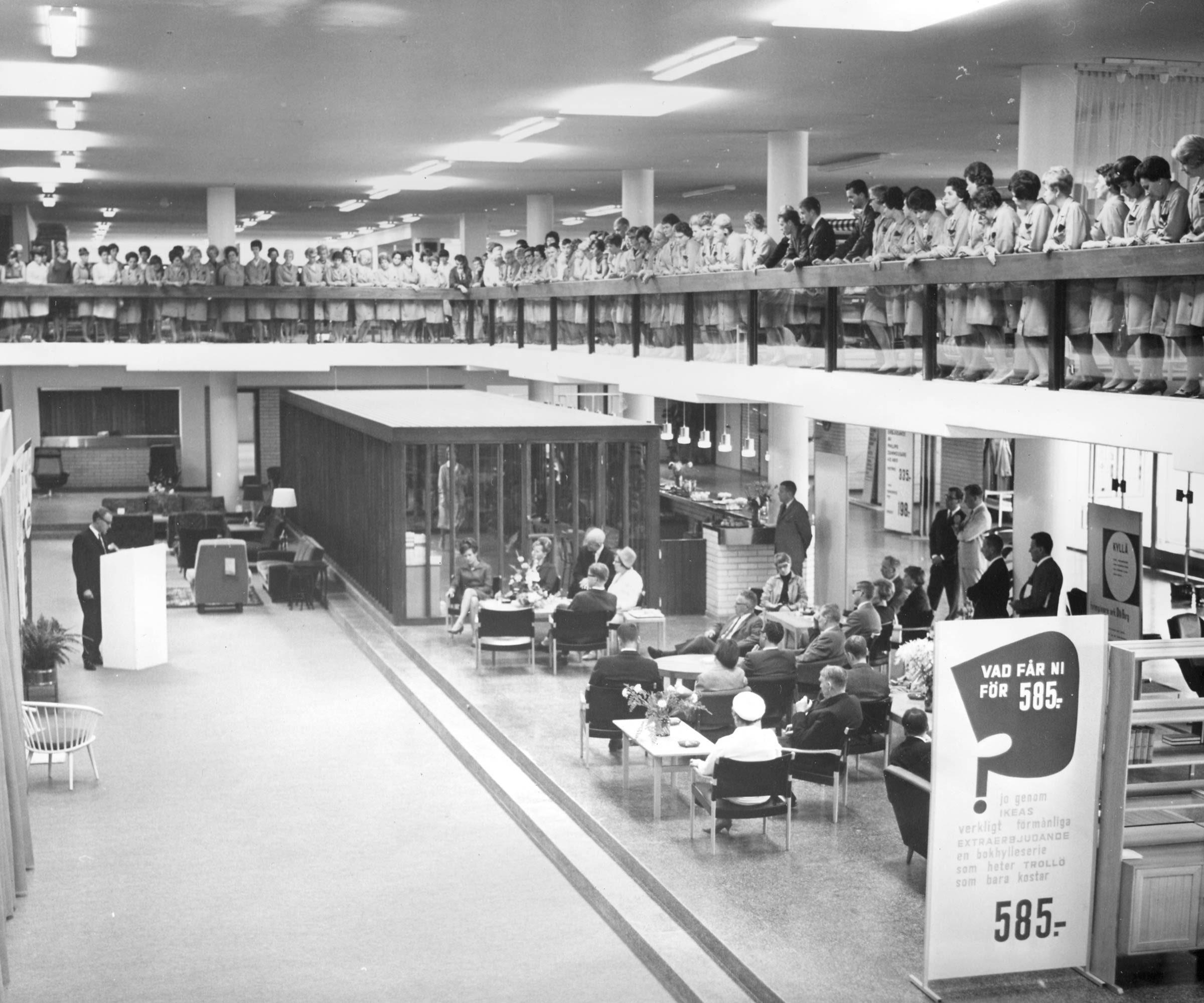vintage ikea store
