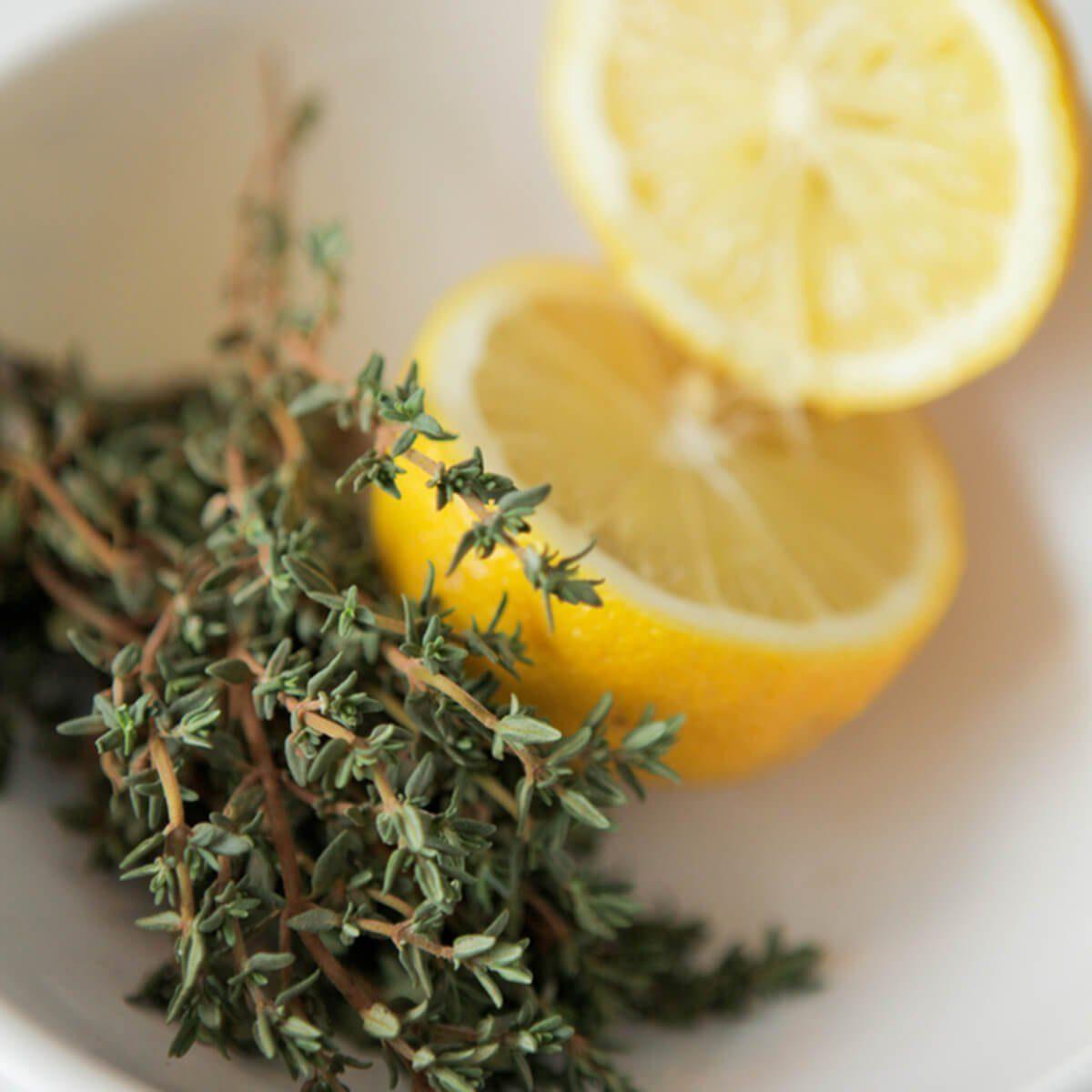 Lemon and thyme