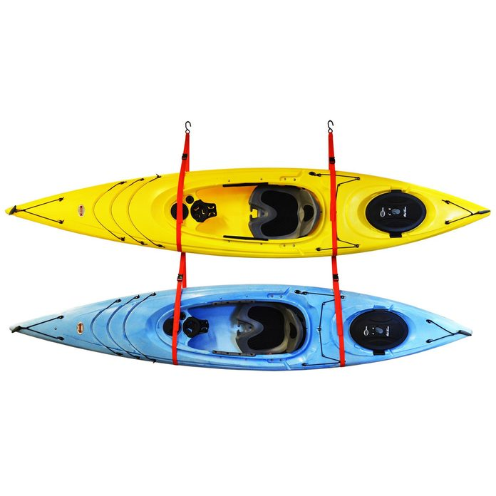 2+kayak+storage+wall+mounted+kayak+rack