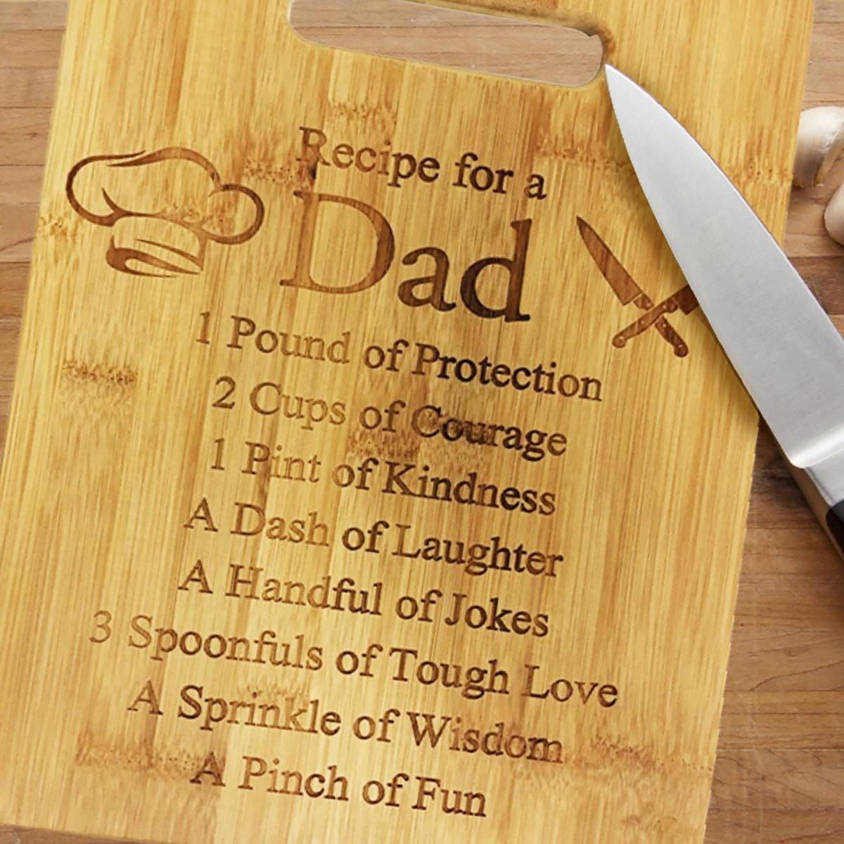 Amazon prime dad cuttingboard
