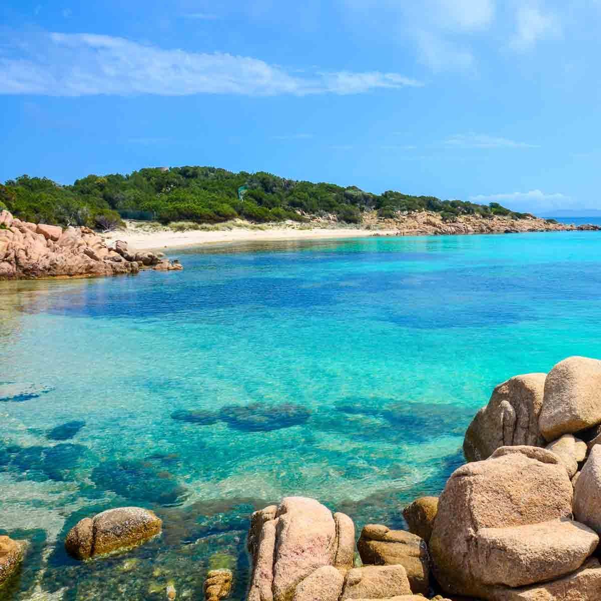 beautiful coast of Sardinia, Italy