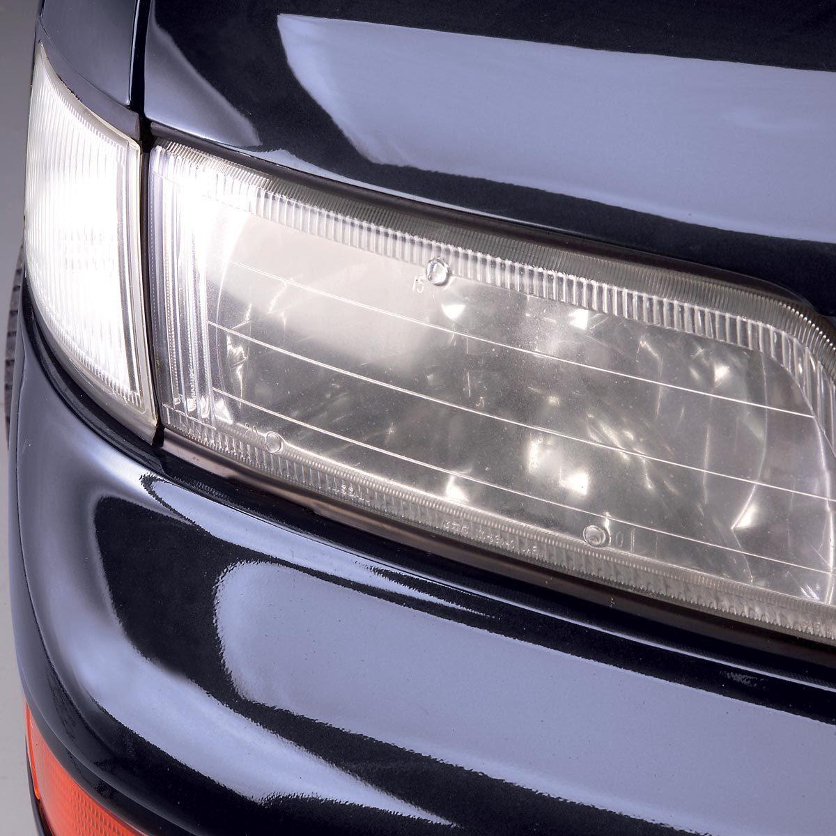 fogged headlights