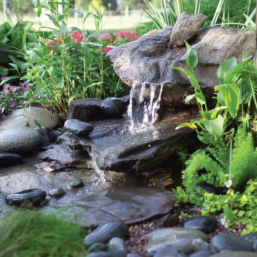 How To Build A Low Maintenance Water, Small Outdoor Rock Fountains