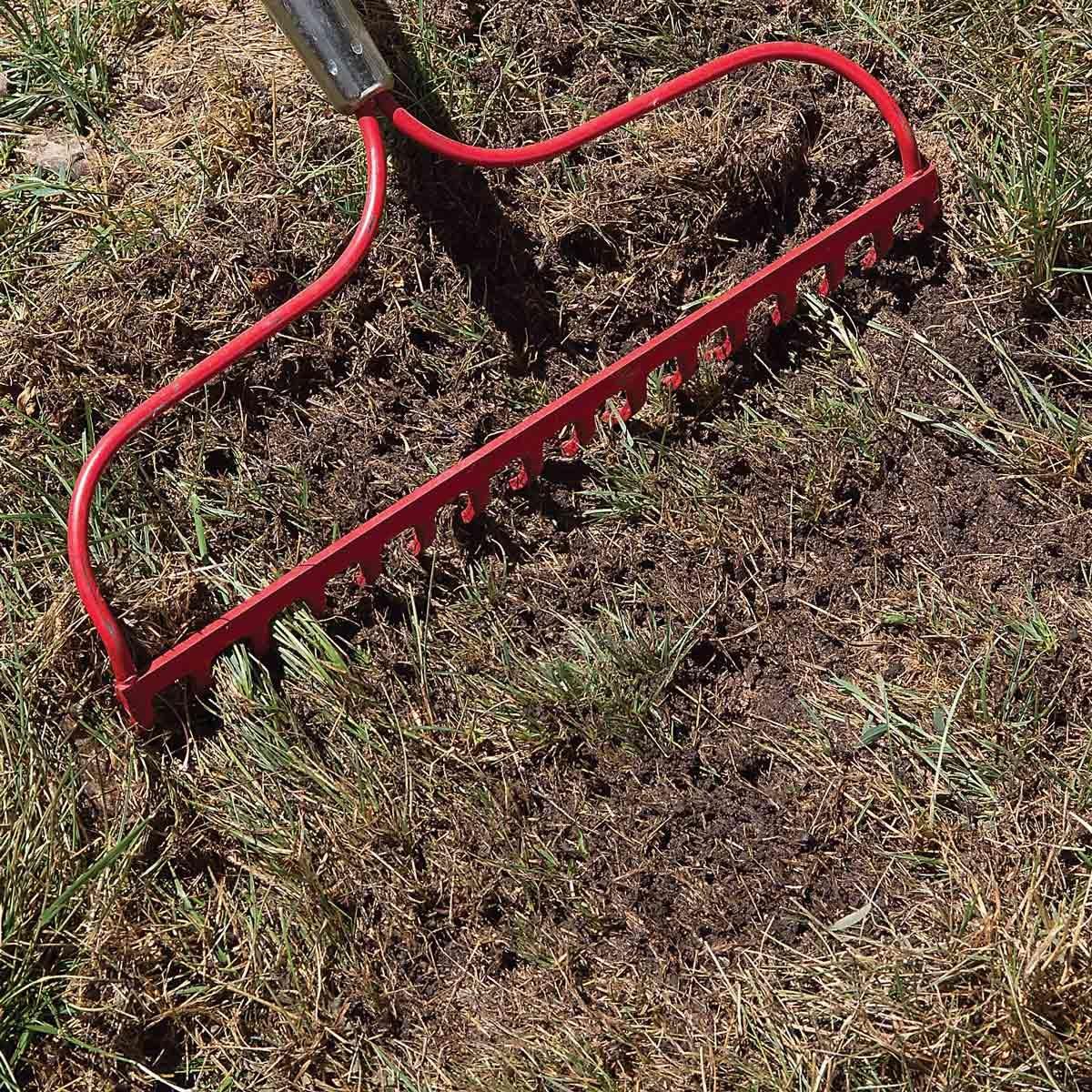 rake soil