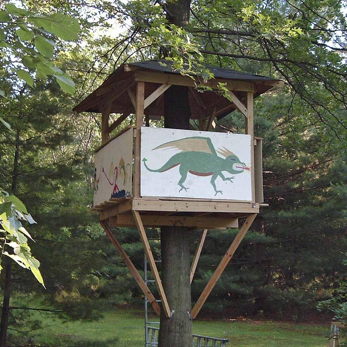 How To Build A Tree House Family Handyman