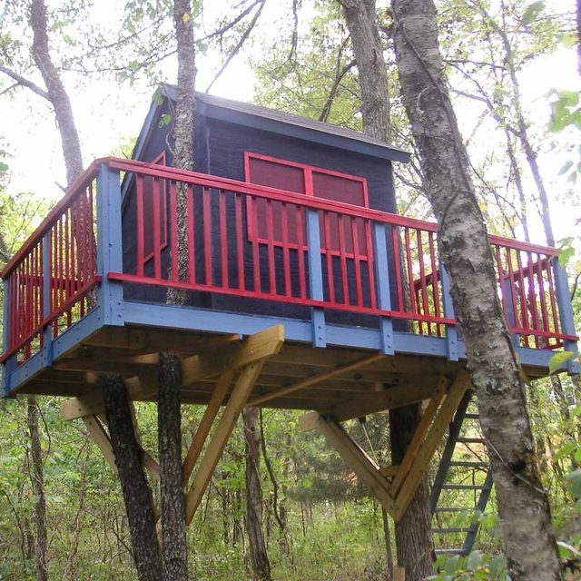 treehouse building tips piece by piece