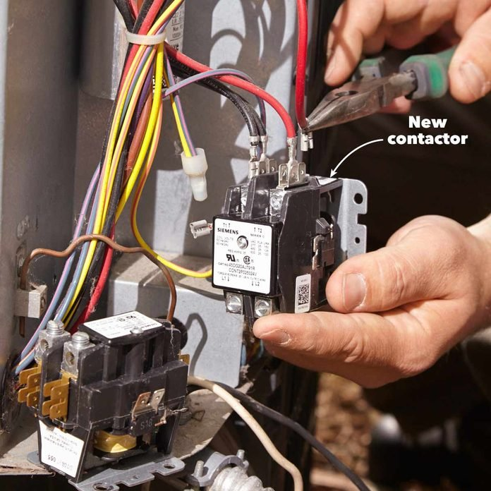 AC Repair: How to Troubleshoot and Fix an Air Conditioner (DIY Project) | Hvac Contactor Wiring |  | The Family Handyman
