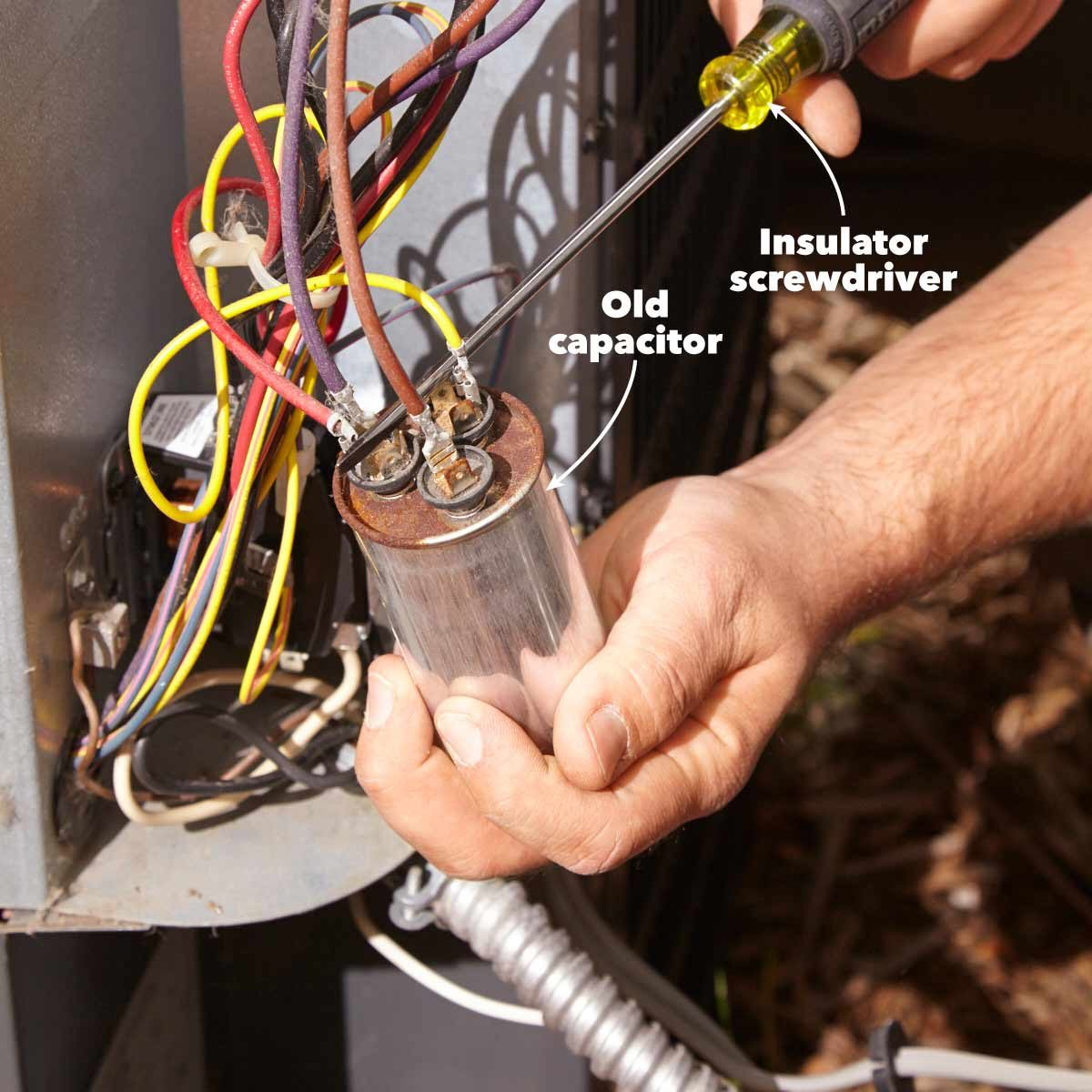How to Troubleshoot & Fix an Air Conditioner (DIY w ... Intertherm Contactor Wiring Diagram on abortion diagram, kitchen stoves and ovens diagram, push button start stop diagram, contactor exploded view, contactor coil, reverse polarity relay diagram, generac transfer switch diagram, magnetic contactor diagram, logic flow diagram, contactor operation diagram, single phase reversing contactor diagram, carrier furnace parts diagram, mechanically held lighting contactor diagram, circuit diagram, contactor switch, electrical contactor diagram, 3 position selector switch diagram, contactor parts, contactor relay, 6 prong toggle switch diagram,