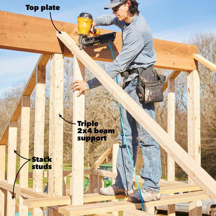 pavilion kitchen shed build the shed gables