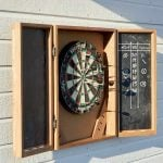How to Build a Dartboard Cabinet