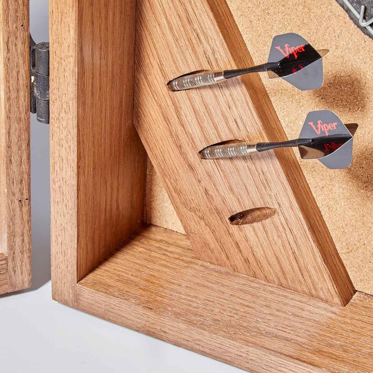 dartboard clever dart storage