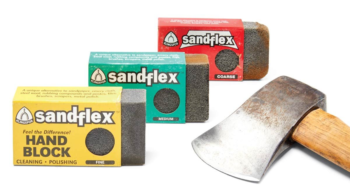 sandflex rust erasers