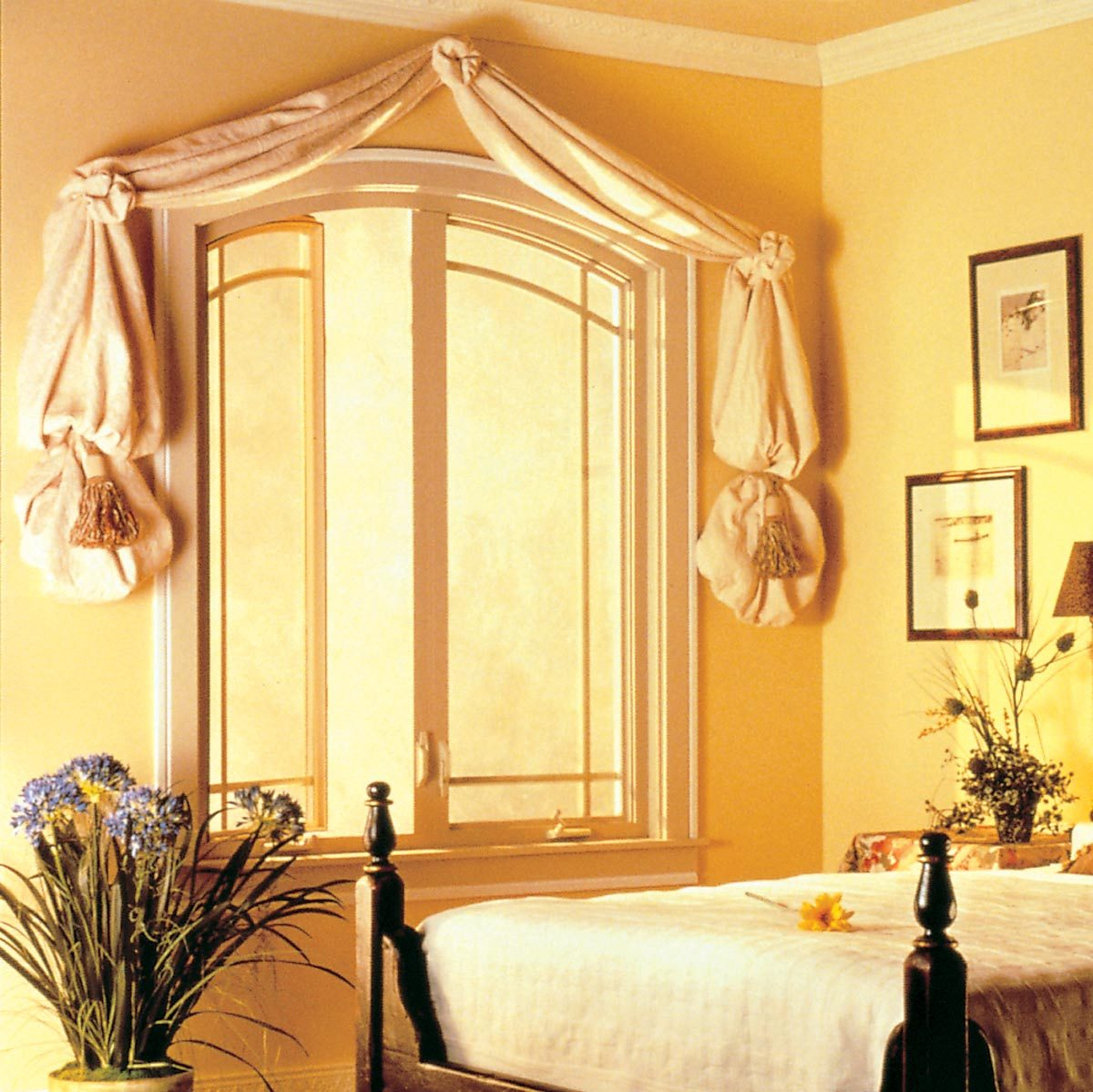 dated draperies curtain