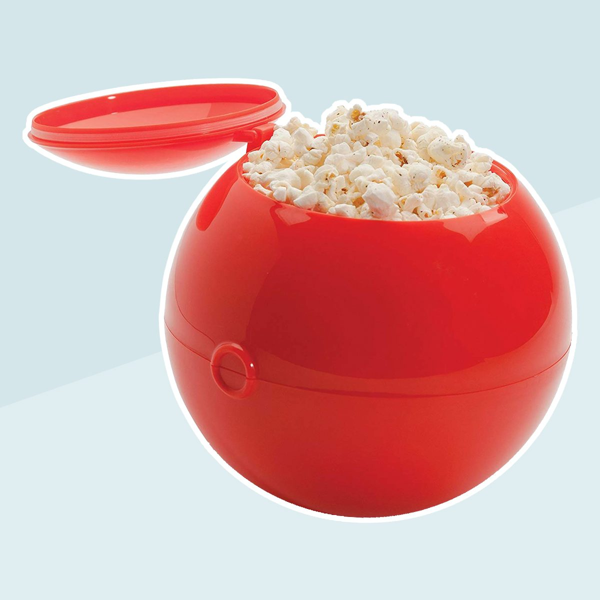 FuhlSpeed KPB-27 Popcorn Ball Microwavable Popcorn Maker/Mixer