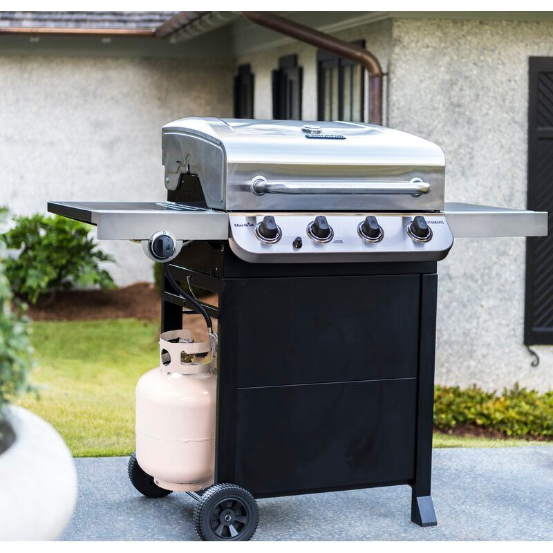 Performance Series 4-Burner Propane Gas Grill