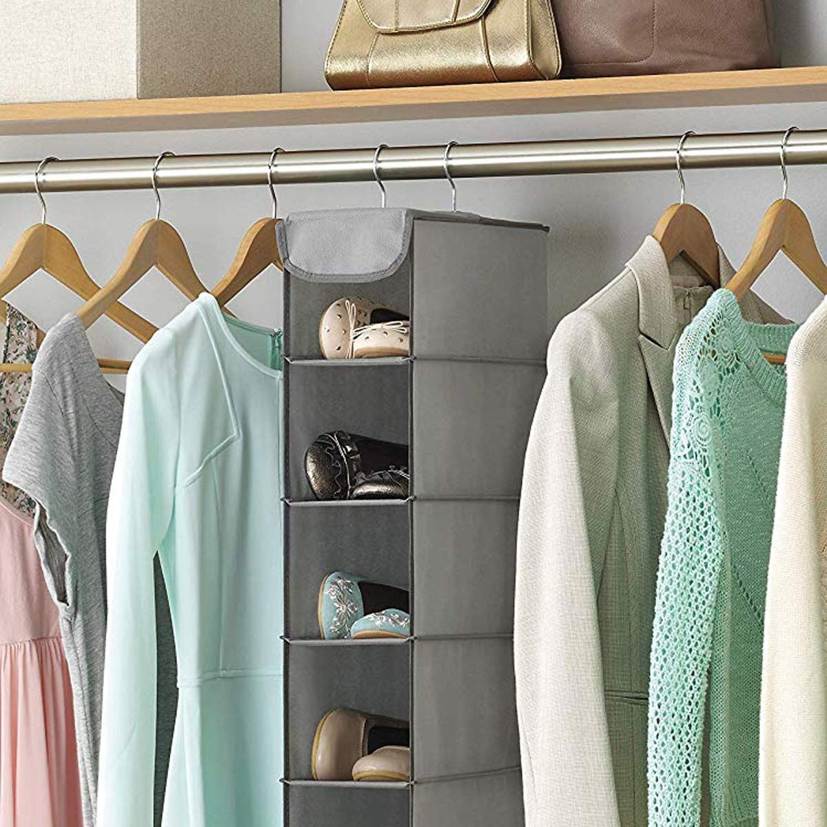 Whitmor-Hanging-Shoe-Shelves